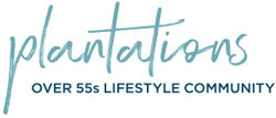 Plantations over 55s lifestyle community logo
